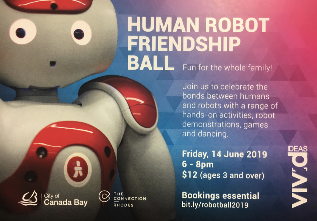 VIVID Festival – Human Robot Friendship Ball